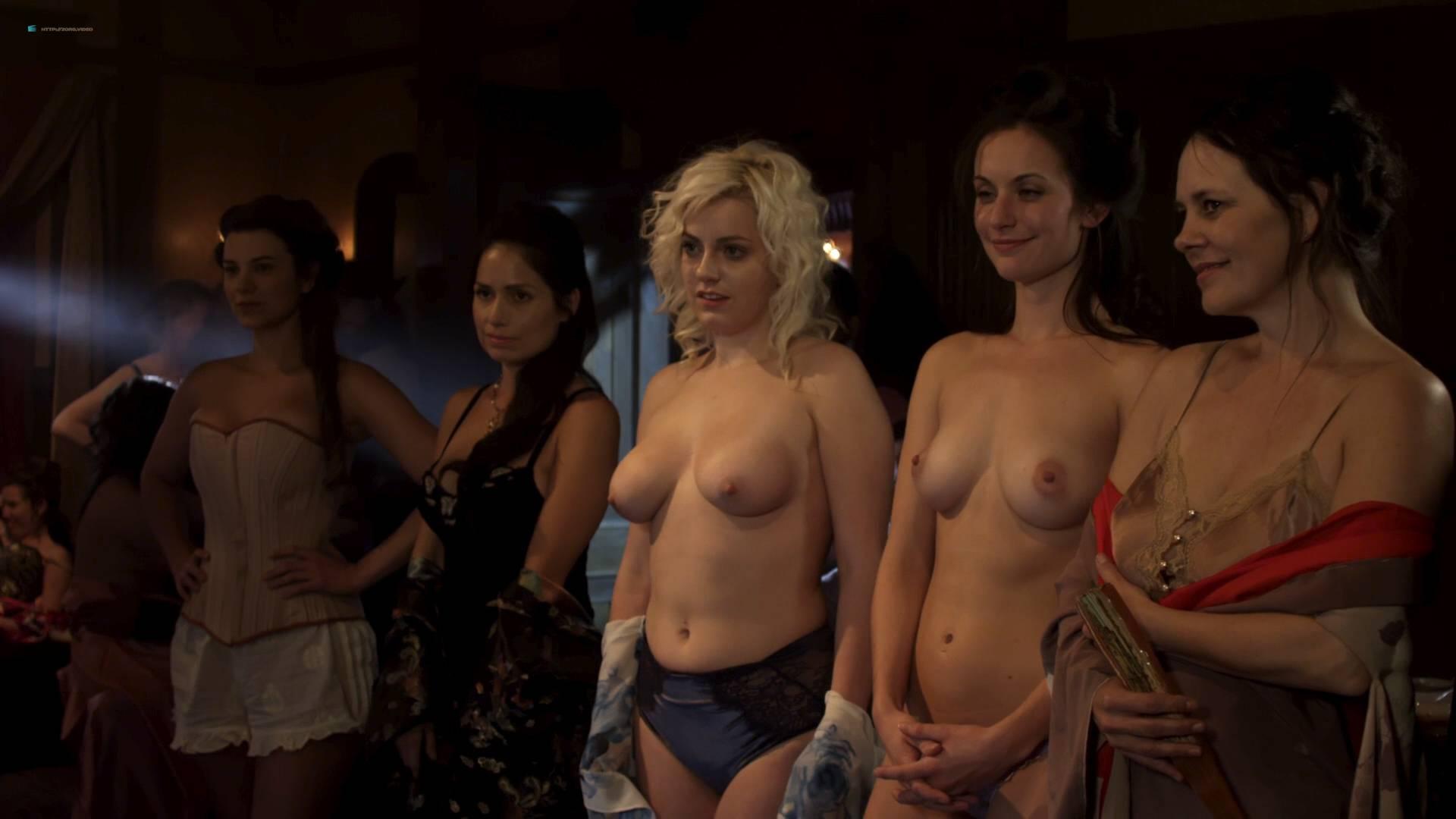 Elizabeth Lavender nude topless Elysia Rotaru nude butt boobs - Dead Again in Tombstone (2017) HD 1080p BluRay (10)