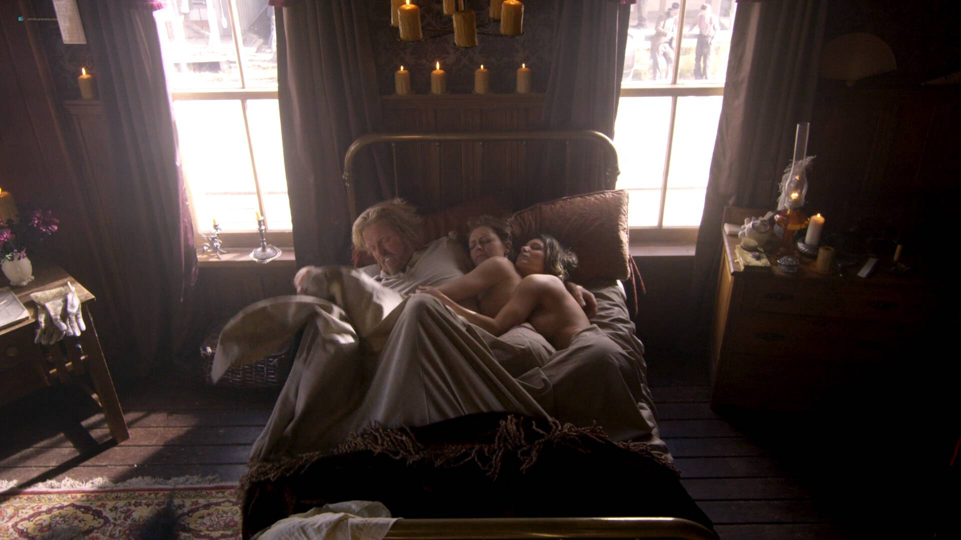 Elizabeth Lavender nude topless Elysia Rotaru nude butt boobs - Dead Again in Tombstone (2017) HD 1080p BluRay (2)