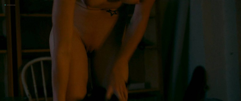 Natalie Krill nude bush Erika Linder nude lot of sex - Below Her Mouth (2016) HD 1080p Web (15)