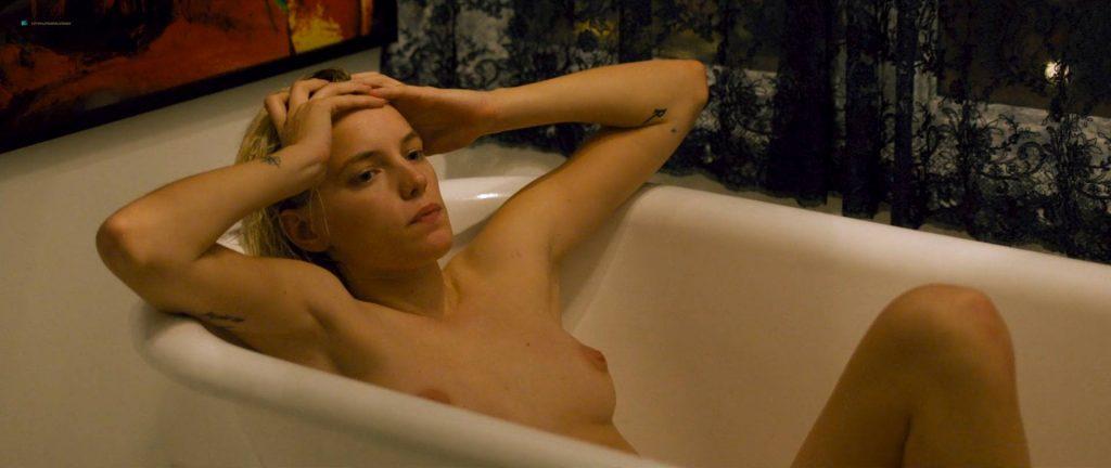 Natalie Krill nude bush Erika Linder nude lot of sex - Below Her Mouth (2016) HD 1080p Web (4)