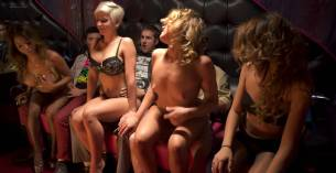 Rachel Riley nude topless Ivy Salazar other's nude too - Last Day of School (2016) HD 1080p (5)