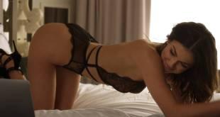 Serinda Swan hot sexy in black lingerie - Ballers (2017) s3e4 HD 1080p Web (3)