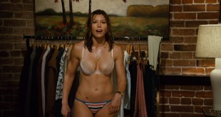 Jessica Biel hot sexy and Adam Sandler groping her boobs others sexy too - I Now Pronounce You Chuck & Larry (2007) HD 1080p BluRay (6)