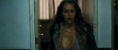 Teresa Palmer nude side boob Sibongile Mlambo nude topless - Message from the King (2016) HD 1080p BluRay (6)