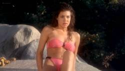 Teri Weigel nude topless Vickie Benson, Betsy Russell and other's hot and sexy - Cheerleader Camp (1988) (16)