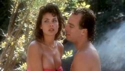 Teri Weigel nude topless Vickie Benson, Betsy Russell and other's hot and sexy - Cheerleader Camp (1988) (4)