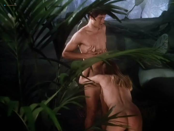 Elizabeth Kaitan nude in the shower Jacqueline Lovell and many other's nude bush, sex, threesome - Virtual Encounters (1996) (19)