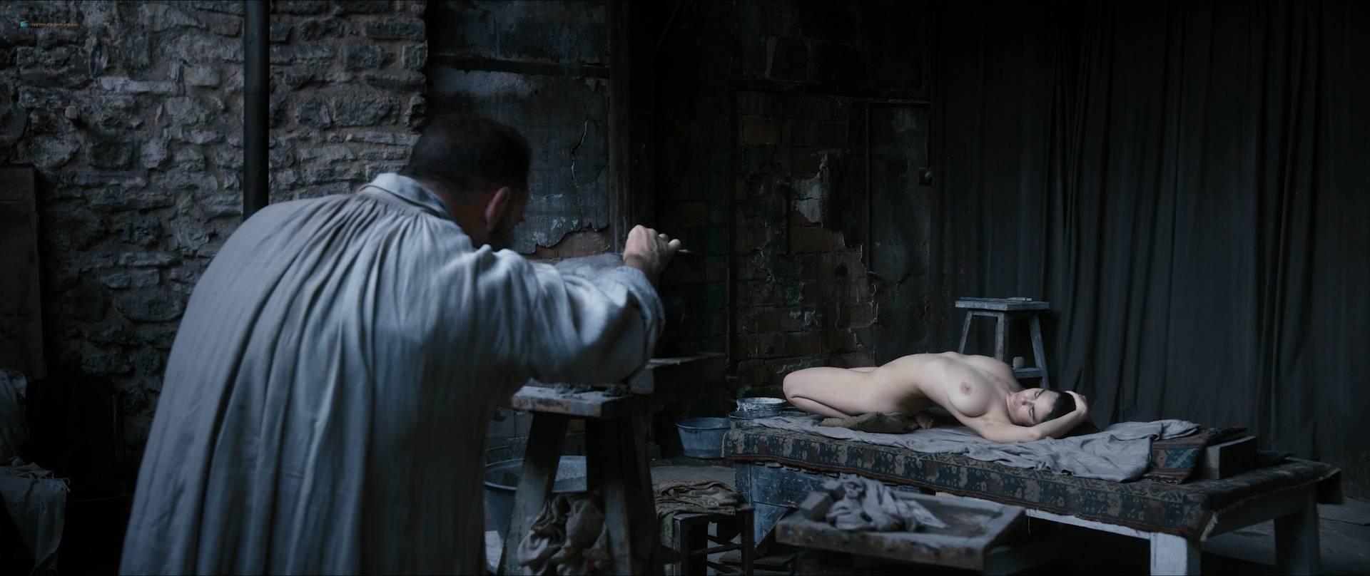 Izïa Higelin nude full frontal Magdalena Malina, Olivia Baes and other's nude bush - Rodin (FR-2017) HD 1080 BluRay (20)