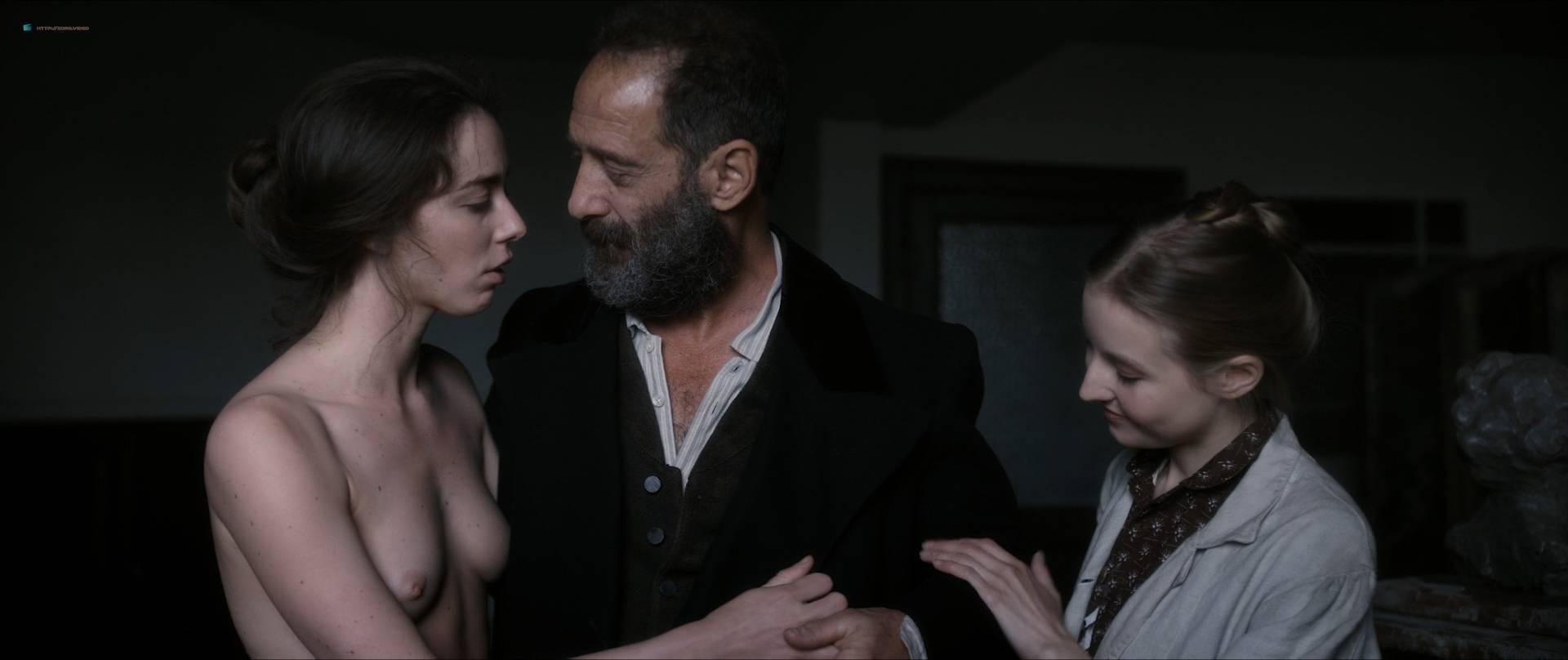 Izïa Higelin nude full frontal Magdalena Malina, Olivia Baes and other's nude bush - Rodin (FR-2017) HD 1080 BluRay (8)