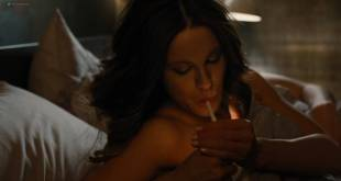Kate Beckinsale hot and sexy Kiersey Clemons busty in lingerie - The Only Living Boy in New York (2017) HD 1080p Web. (2)