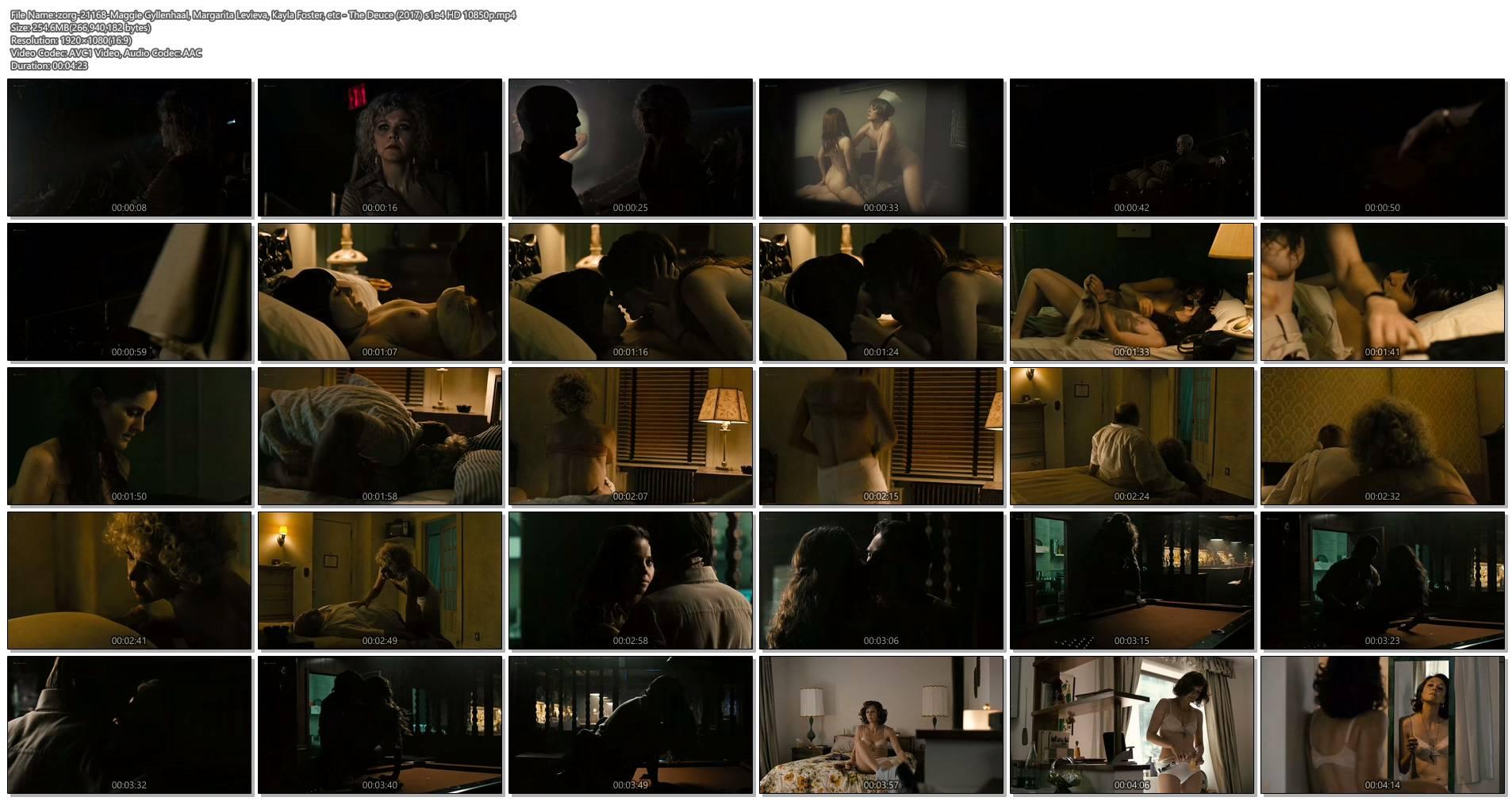 Maggie Gyllenhaal nude oral Margarita Levieva nude sex Kayla Foster lesbian - The Deuce (2017) s1e4 HD1080p (1)