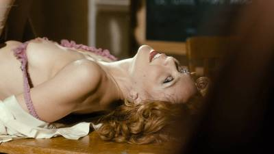 Maggie Gyllenhaal nude topless sex Margarita Levieva and Emily Meade nude - The Deuce (2017) s1e6 HD 1080p (11)