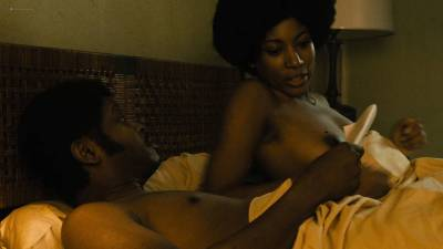 Natalie Paul nude topless Dominique Fishback and Larisa Polonsky nude sex - The Deuce (2017) s1e8 HD 1080p (15)