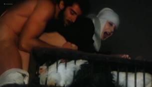 Olivia Pascal nude bush dildo Marina Pierro, Gina Rovere and others nude full frontal sex - Interno di un convento (IT-1978) (15)