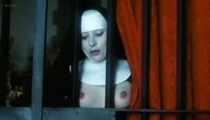 Olivia Pascal nude bush dildo Marina Pierro, Gina Rovere and others nude full frontal sex - Interno di un convento (IT-1978) (4)