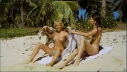 Olivia Pascal nude topless Ursula Buchfellner and Christine Zierl nude too - Cola Candy Chocolate (DE-1979) (5)