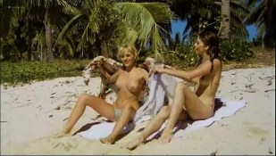 Olivia Pascal nude topless Ursula Buchfellner and Christine Zierl nude too – Cola Candy Chocolate (DE-1979)