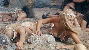 Victoria Vetri nude butt and topless - When Dinosaurs Ruled the Earth (1970) HD 1080p BluRay (10)