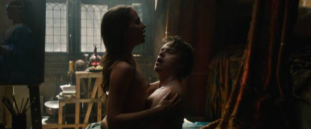 Alicia Vikander nude sex Holliday Grainger and Cara Delevingne nude sex too - Tulip Fever HD 1080p (2017) (12)