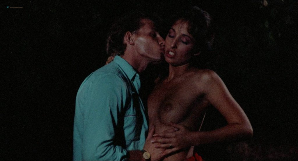 Amber Lynn nude full frontal and sex Crystal Breeze bush doggy style others nude and hot - Evils of the Night (1985) HD 1080p BluRay (18)