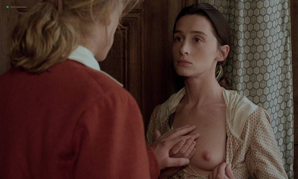 Anne Brochet nude full frontal and Carole Richert nude bush - Tous Les Matins Du Monde (FR-1991) HD 720p BluRay (11)
