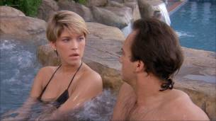 Loryn Locklin nude sideboob and hot in tong - Taking Care Of Business (1990) HD 1080p WEB 13