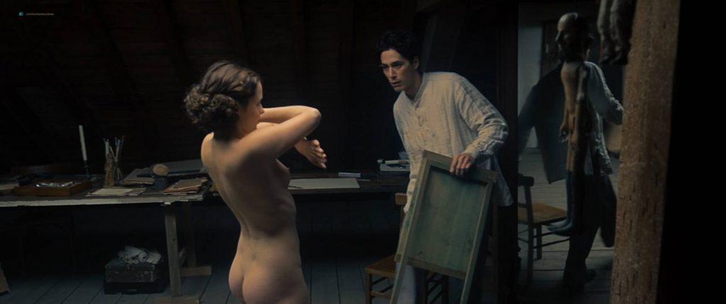 Maresi Riegner nude full frontal Larissa Breidbach nude bush Valerie Pachner nude - Egon Schiele: Tod und Mädchen (AT-2016) HD 1080p BluRay (16)