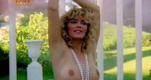 Barbara Crampton nude topless Kim Evenson nude busty topless - Kidnapped (1986) TV-rip (3)