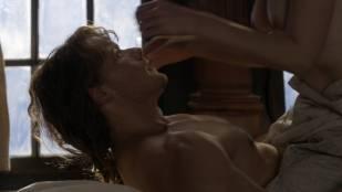 Caitriona Balfe nude brief topless in sex scene - Outlander (2017) s3e13  HD 1080p Web