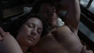 Caitriona Balfe nude brief topless in sex scene - Outlander (2017) s3e13 HD 1080p Web (2)