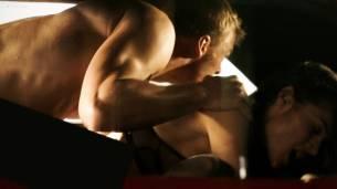 Christina Ochoa hot sexy and sex in the car - Blood Drive (2017) s1e1-2 HD 1080p (10)