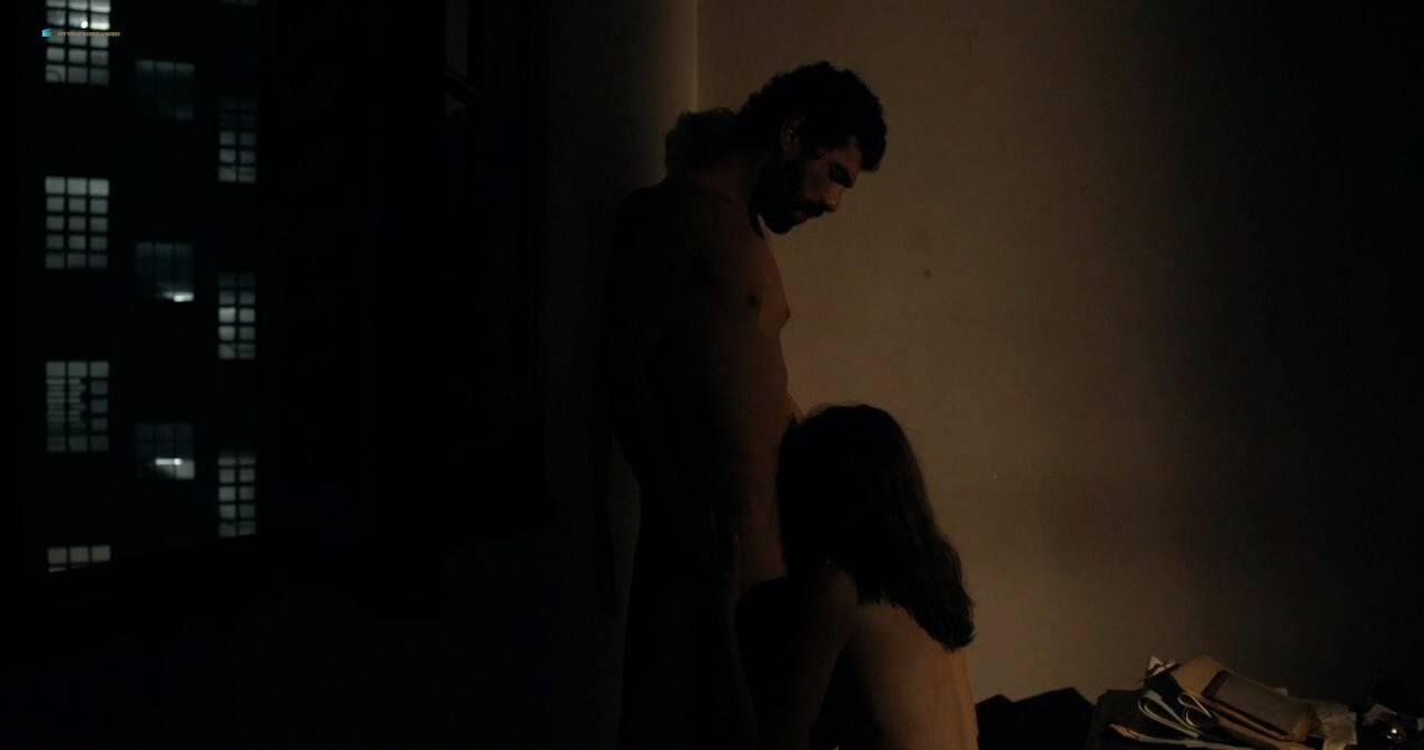 Clara Choveaux nude full frontal explicit bj - Elon Nao Acredita na Morte (BR-2016) HD 720p WEB (8)