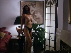 Kathleen Kinmont nude topless, butt and sex Meilani Paul and Lisa Marie Scott nude topless - The Corporate Ladder (1997) (7)