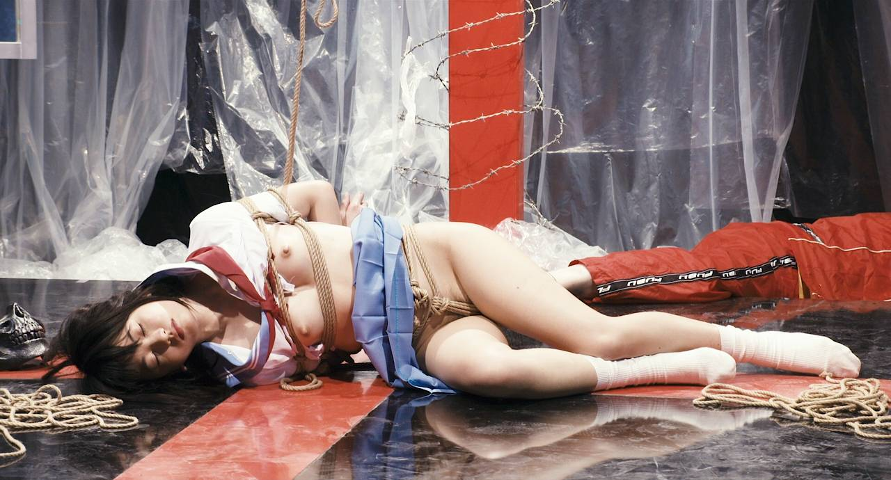 Maiko Amano nude bush Noriko Hamada and Rina Sakuragi nude full frontal - Hana to hebi Zero (JP-2014) HD 720p (19)