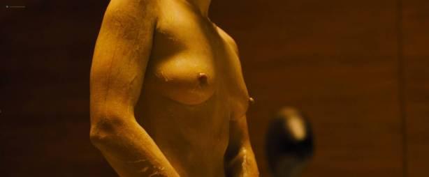 Sallie Harmsen nude topless and butt Ana de Armas nude topless Mackenzie Davis hot - Blade Runner 2049 (2017) HD 1080p Web-DL (12)