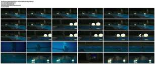 Toni Collette nude bush and boobs while skinny dipping - Madame (2017) HD 1080p WEB (1)