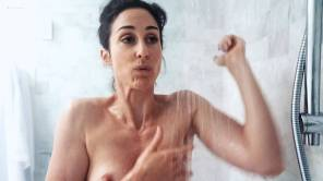 Catherine Reitman nude boobs and butt in the shower Kendall Savage topless Dani Kind sex in the car - Workin' Moms (2018) s2e1 HD 1080p WEB (10)