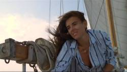 Elizabeth Hurley nude topless Patsy Kensit hot and sexy - Kill Cruise (1990) (9)