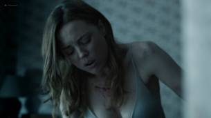 Helen Kennedy nude topless and butt Melissa George hot bra panties - Hunted (2012) s1e1 HD 1080p Web (4)