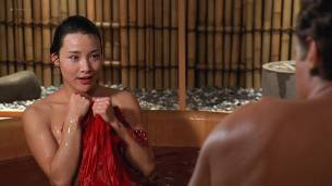 Joan Chen nude brief topless Sumi Mutoh nude bush, butt and boobs - The Hunted (1995) HD 1080p Web (14)