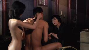 Joan Chen nude brief topless Sumi Mutoh nude bush, butt and boobs - The Hunted (1995) HD 1080p Web (5)