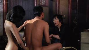 Joan Chen nude brief topless Sumi Mutoh nude bush, butt and boobs - The Hunted (1995) HD 1080p Web (4)