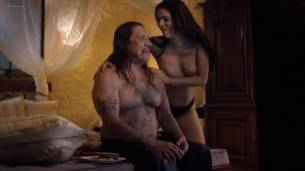 Lucy Aarden nude full frontal Vanina Arias and others nude - Death Race 4: Beyond Anarchy (2018) HD 1080p Web (12)