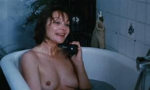 Macha Méril nude topless Laurence Cortadellas nude in shower - Vagabond (FR-1985) HD 1080p (7)