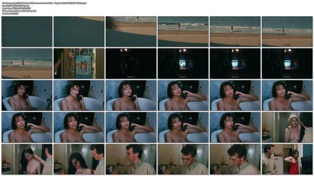 Macha Méril nude topless Laurence Cortadellas nude in shower - Vagabond (FR-1985) HD 1080p (1)