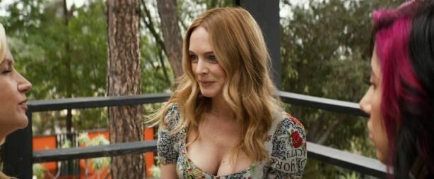 Heather Graham nude sex Angela Kinsey nude butt Stephanie Beatriz hot - Half Magic (2018) HD 1080p (9)