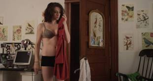 Kate Alden hot and sexy bra and undies - The Hollow One (2015) HD 1080p WEB (6)
