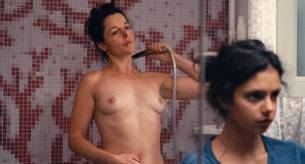 Noée Abita nude full frontal Laure Calamy nude boobs in shower - Ava (FR-2017) HD 1080p Web (11)
