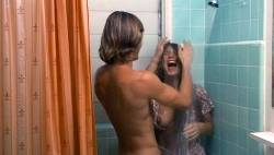 Barbara Mills nude topless and butt Sandy Dempsey and others nude topless - Blue Money (1972) (5)