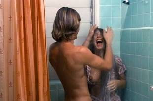 Barbara Mills nude topless and butt Sandy Dempsey and others nude topless – Blue Money (1972)